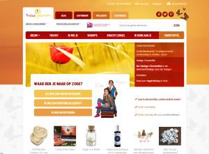Troostgeschenk nieuwe website
